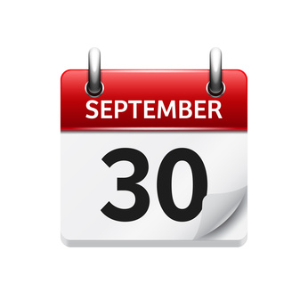 Fristen per 30.09.2017